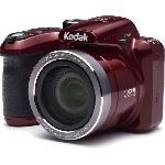 AZ401 ASTRO ZOOM Appareil photo numerique Bridge - 16 Megapixels - Zoom optique 40x - Rouge