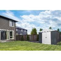 Abri De Jardin - Chalet YARDMASTER Abri de jardin en metal 12 m2 - Gris anthracite