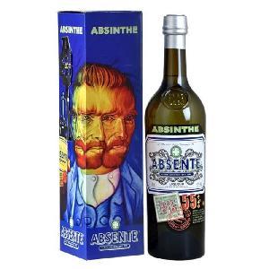 Absinthe Absente - Absinthe - 55.0% Vol. - 70 cl - Cuillere et étui Van Gogh Aucune