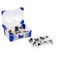 Accessoire - Consommable Machine Outil Accessoires de polissage pour perceuse visseuse - 217 pces