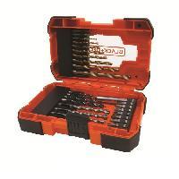 Accessoire - Consommable Machine Outil BLACKetDECKER Coffret 27 accessoires percage vissage A7235
