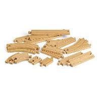 Accessoire - Piece Detachee - Outil Circuit Pack de Rail en bois 16 pieces