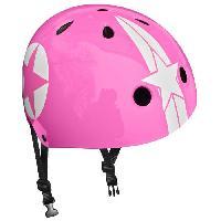 Accessoire - Piece Detachee Vehicule Casque Skate Pink Star avec Molette d'Ajustement