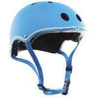 Accessoire - Piece Detachee Vehicule GLOBBER Casque proctection bleu clair XS-S -51-54 cm -