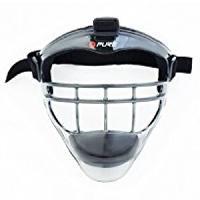 Accessoire Air Hockey - Piece Detachee Air Hockey PURE2IMPROVE Masque Hockey Enfant - Multisport - GrisNoir