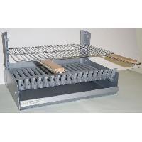 Accessoire Barbecue Plancha - Grille - Plaque - Tablette - Couvercle Grilloir reglable en 3 hauteurs