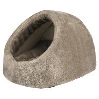 Accessoire De Cage - Abri Petit Animal Abri douillet Lilo 35 D 26 D 41 cm - Gris - Pour chien