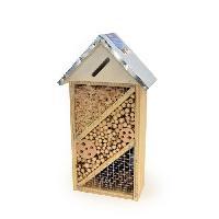 Accessoire De Cage - Abri Petit Animal DUVO Hôtel a insectes Alvin - 21x10x37 cm