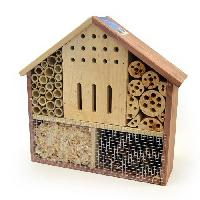 Accessoire De Cage - Abri Petit Animal DUVO Hôtel a insectes Oberon - 37x11x36 cm