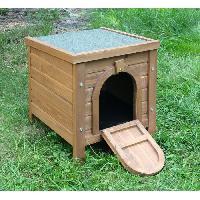 Accessoire De Cage - Abri Petit Animal Outdoor maisonnette pour petits animaux - 36x36x40cm