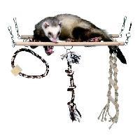 Accessoire De Cage - Abri Petit Animal Pont suspendu 35 D15 cm pour rongeur - Trixie - Generique