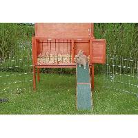 Accessoire De Cage - Abri Petit Animal TRIXIE natura rampe en bois pour cages rongeur 20 x 50 cm