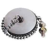 Accessoire De Cuisine WIRQUIN Bouchon SP9201 - Inox - O 47 mm - Evier inox - Avec enjoliveur