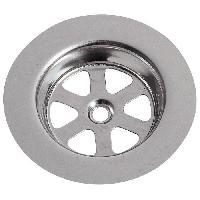 Accessoire De Cuisine WIRQUIN Grille ronde creuse SP9236 - Inox - O 80 mm - Evier en gres