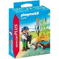 Accessoire De Figurine 5376 Enfant avec loutres - Playmobil