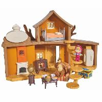 Accessoire De Figurine MASHA et MICHKA Smoby Maison Michka 2 etages