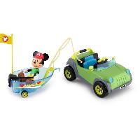 Accessoire De Figurine MICKEY 4X4 Bateau - Imc Toys