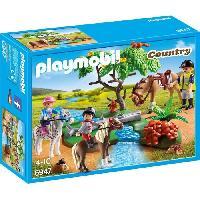 Accessoire De Figurine PLAYMOBIL 6947 - Country - Cavaliers avec Poneys et Cheval