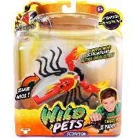 Accessoire De Figurine Scorpion 2 Interactif Wild Pets -capteurs sensitifs-