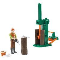 Accessoire De Figurine Set forestier Bworld avec figurine