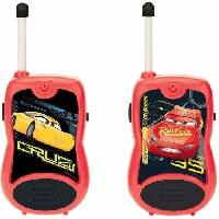 Accessoire De Jeu Multimedia Enfant CARS 3 Talkies-Walkies Disney - 100m
