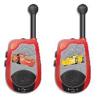 Accessoire De Jeu Multimedia Enfant CARS 3 Walkies-Talkies 3D Disney Portee 2 km