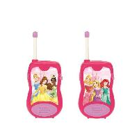 Accessoire De Jeu Multimedia Enfant DISNEY PRINCESSE - Paire de Talkies-Walkies Enfant - Portée 100m - Lexibook