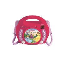 Accessoire De Jeu Multimedia Enfant DISNEY PRINCESSES - Lecteur CD avec 2 microphones