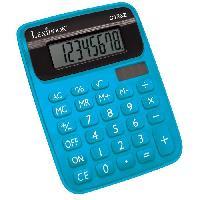 Accessoire De Jeu Multimedia Enfant LEXIBOOK - Calculatrice Semi Desktop - Bleu