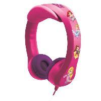 Accessoire De Jeu Multimedia Enfant LEXIBOOK - DISNEY PRINCESSES - Casque Audio Enfant - Flexible et Incassable