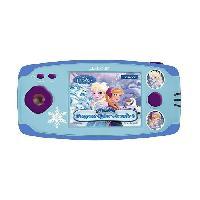 Accessoire De Jeu Multimedia Enfant LEXIBOOK -LA REINE DES NEIGES - Console de Jeu Enfant avec 150 Jeux. Fille. a partir de 5 ans.