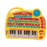 Accessoire De Jeu Multimedia Enfant LEXIBOOK Mon ABCédaire Oui-Oui. Piano Musical et Educatif. Français. 4 Modes: Apprentissage. Quiz. Musical. Mélodies