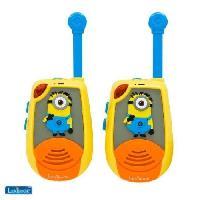 Accessoire De Jeu Multimedia Enfant MINIONS Talkies Walkies 3D - 2kms - Lexibook