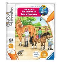 Accessoire De Jeu Multimedia Enfant Tiptoi Livre Je Decouvre les Poneys et les Chevaux