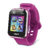 Accessoire De Jeu Multimedia Enfant VTECH - Kidizoom Smartwatch Connect DX2 Framboise - Montre Photos et Videos