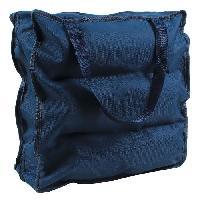 Accessoire De Meuble CASAME Sac de rangement 6 paires de chaussures - 37 x 34 x 16 cm - Bleu Cartamundi