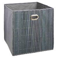 Accessoire De Meuble Panier de rangement 31x31 cm - Bambou Gris