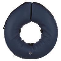Accessoire De Selle Collier de protection gonflable - S-M - Bleu - Pour chien