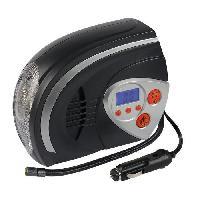 Accessoire Materiel Pneumatique AUTOBEST Compresseur d'air Digital avec Lampe 12V 95W