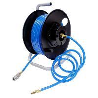 Accessoire Materiel Pneumatique Devidoir 20m pour outil pneumatique avec tuyau 6.3x11