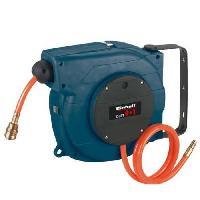 Accessoire Materiel Pneumatique EINHELL Dévidoir automatique pour tuyau 10m DLST 9+1 enrouleur pneumatique