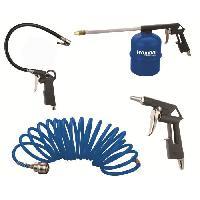 Accessoire Materiel Pneumatique HYUNDAI Kit de 4 Accessoires pour Compresseur
