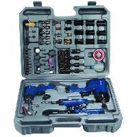 Accessoire Materiel Pneumatique Kit outils pneumatiques 71 pieces pour compresseur