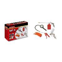 Accessoire Materiel Pneumatique MECAFER Kit d'accessoires air comprimé 8 pieces
