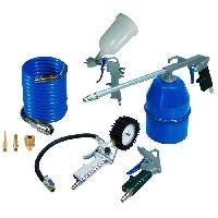 Accessoire Materiel Pneumatique MICHELIN Kit de 8 accessoires pour tout compresseur sur cuve