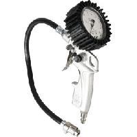 Accessoire Materiel Pneumatique Pistolet de gonflage avec manometre et embout - Orok