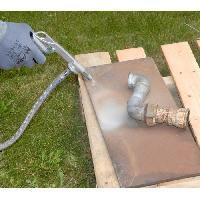 Accessoire Materiel Pneumatique Pistolet de sable air comprime