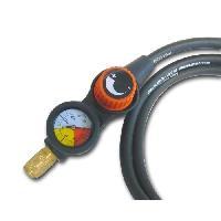 Accessoire Materiel Pneumatique Tuyau air comprime avec regulateur de pression deporte