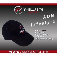Accessoire Mode Casquette - Noir - ADNLifestyle ADNAuto