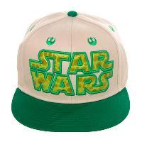 Accessoire Mode Casquette Yoda StarWars beige et vert - TU Freegun